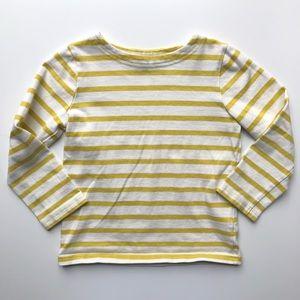 Mini Boden | Boys Striped Tee Shirt Sweater
